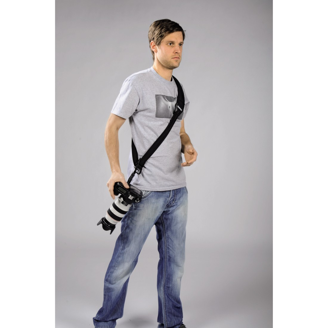 "awx High-Res Appliance - Hama, ""Quick Shoot Strap"" Carrying Strap for SLR Cameras"