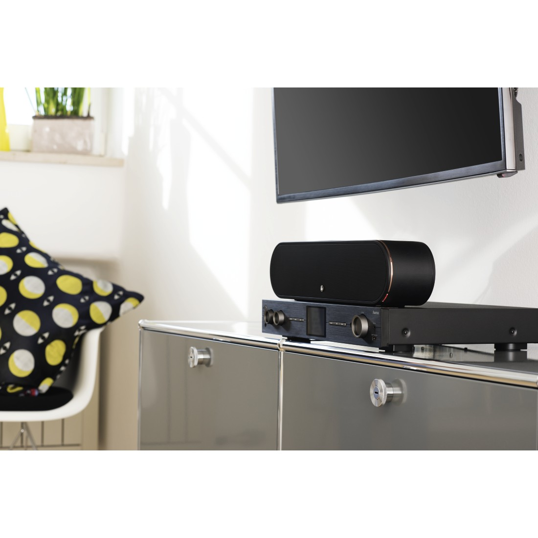 "prx Druckfähiges Pressebild - Hama, Smart-Slim-Soundbar 2.1 ""SIRIUM3800ABT"", Wireless Subwoofer/Alexa/Bluetooth"