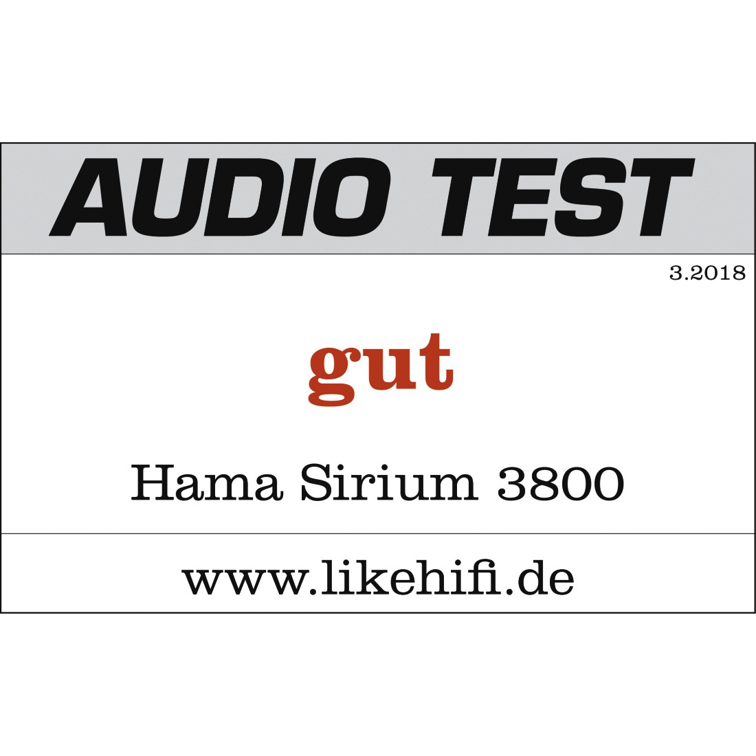 "tex2 Druckfähiges Testurteil 2 - Hama, Smart-Slim-Soundbar 2.1 ""SIRIUM3800ABT"", Wireless Subwoofer/Alexa/Bluetooth"