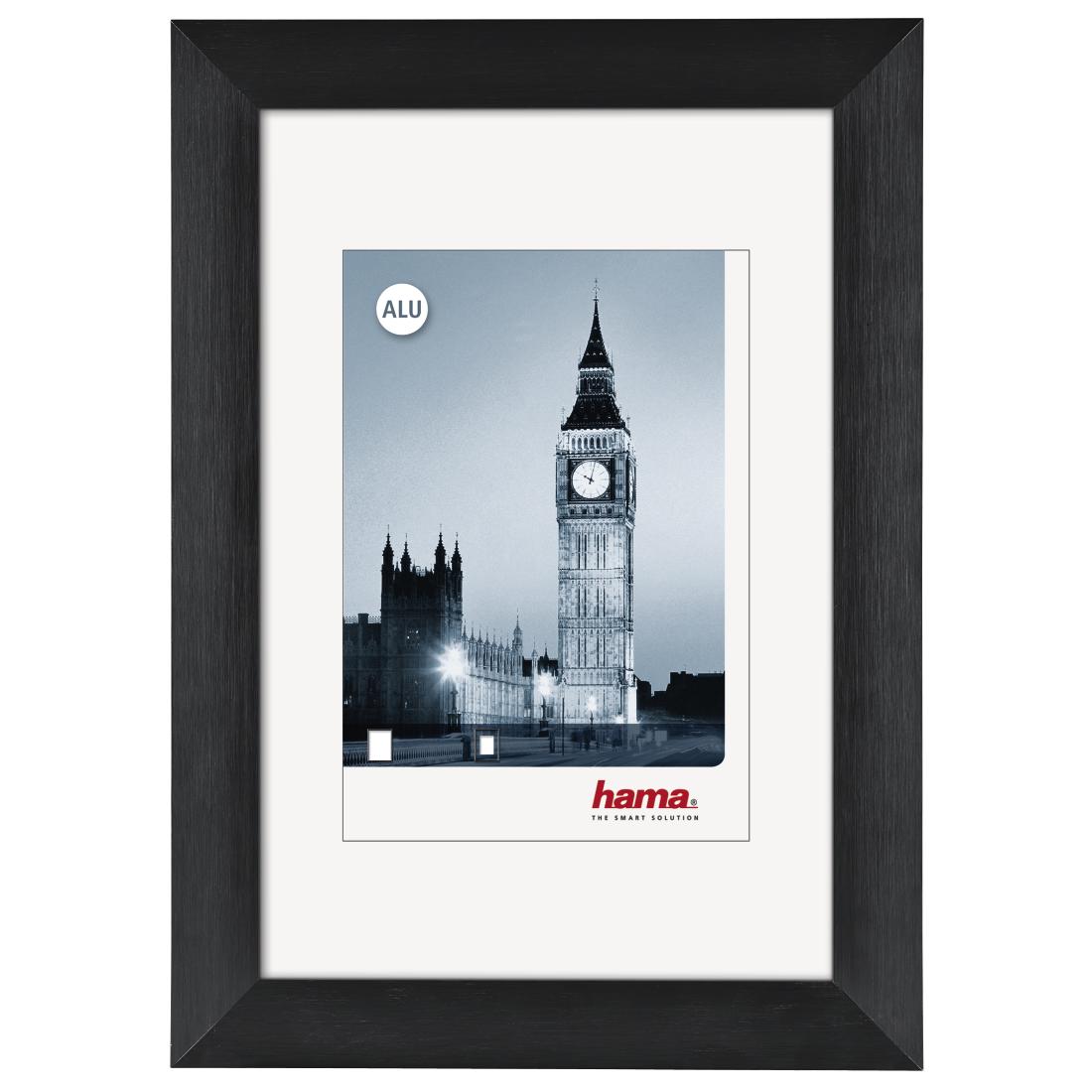 00084934 Hama London Aluminium Frame Black 30 X 40 Cm Hamaat