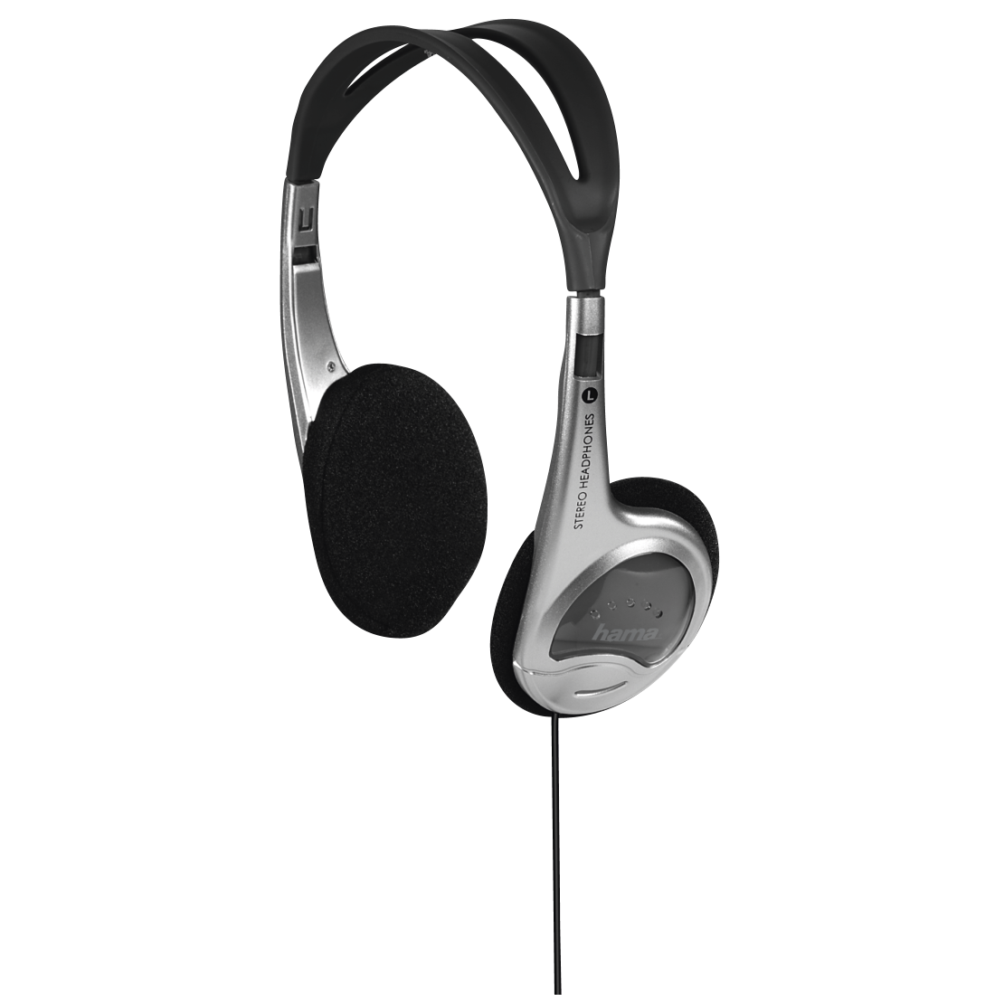 "abx High-Res Image - Hama, ""HK-229"" On-Ear Stereo Headphones"
