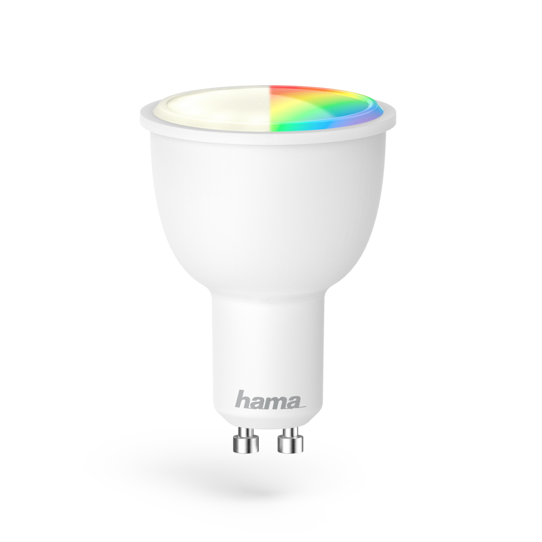 00176532 Hama WiFi-LED-Lampe, GU10, 4,5W, RGB, dimmbar   hama.at
