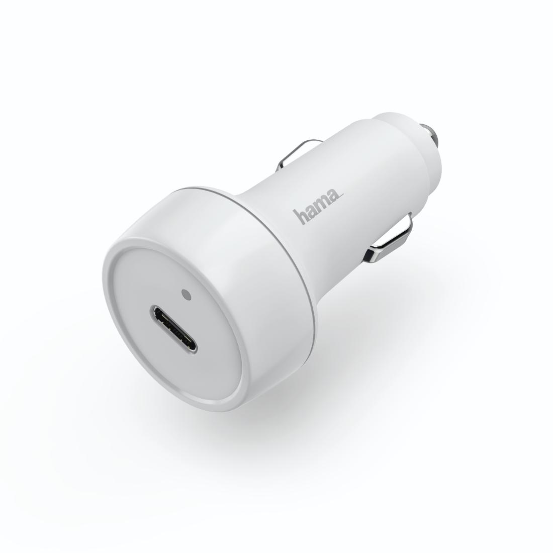 Hama Kfz Ladegerät, USB C, Power Delivery PD Qualcomm®+USB A