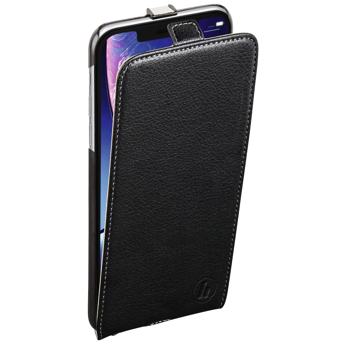 "abx3 High-Res Image 3 - Hama, ""Smart Case"" flap case for Apple iPhone XR, black"