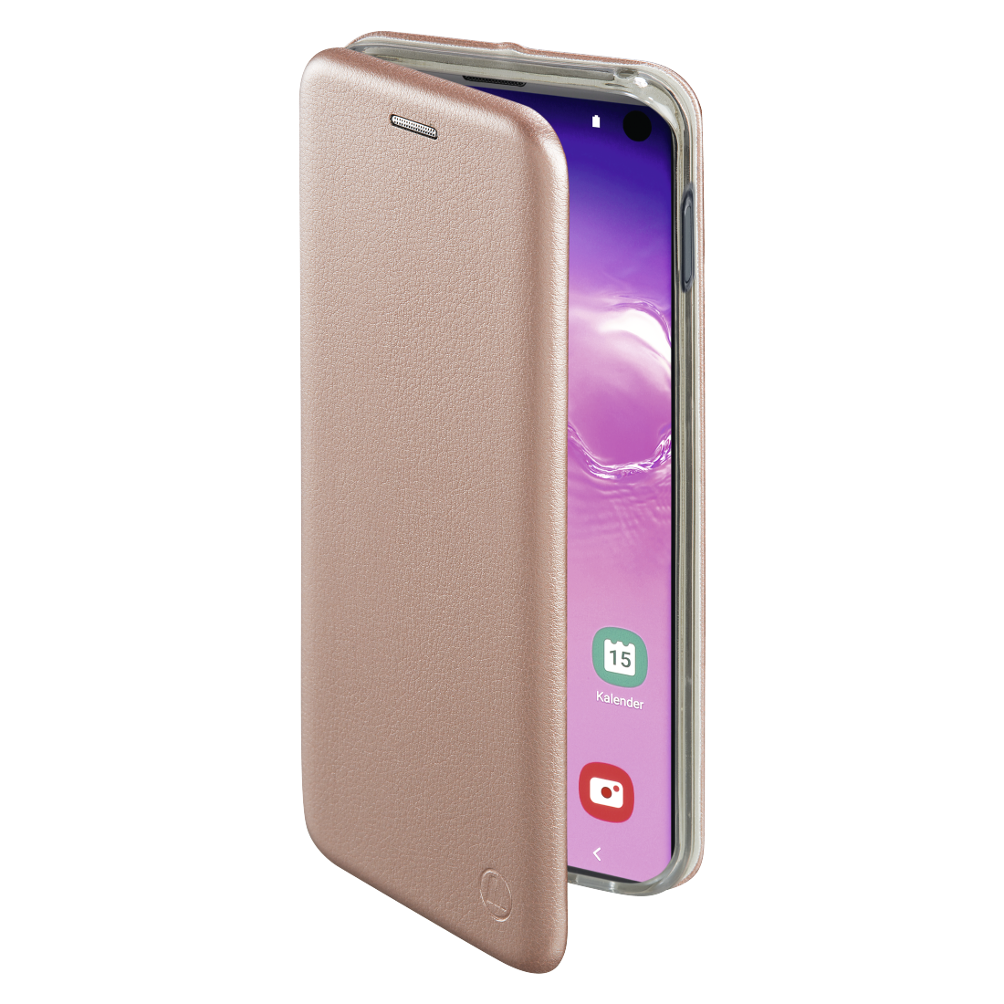 "abx2 High-Res Image 2 - Hama, ""Curve"" Booklet for Samsung Galaxy S10, rose gold"