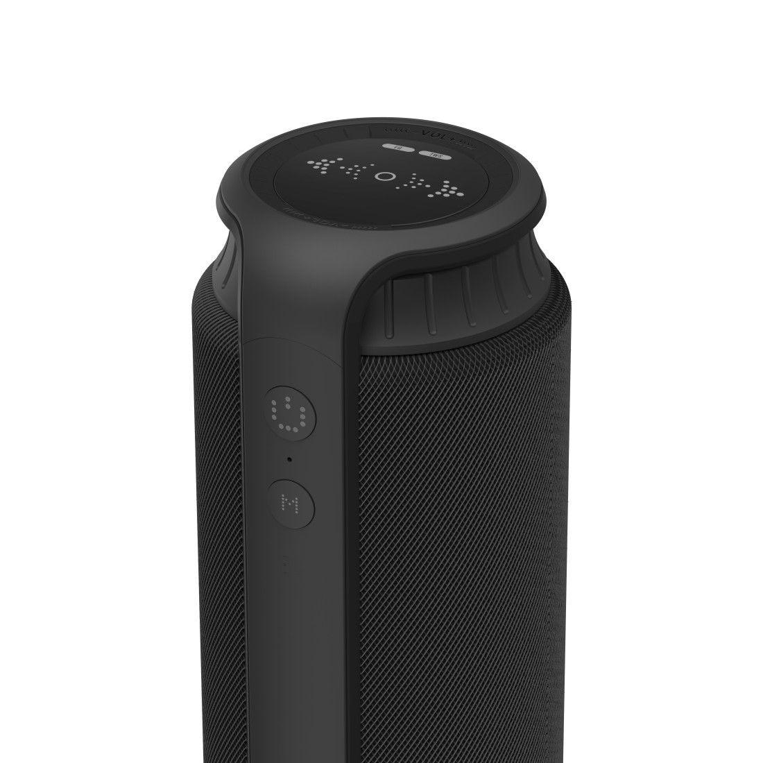 "dex High-Res Detail - Hama, Bluetooth® ""Pipe 2.0"" Loudspeaker, Waterproof, 24 W, black"