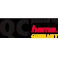 Firmeninternes Prüf- und Qualitätssiegel , QC passed by Hama Germany